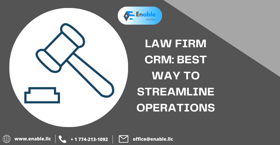 Zo helps in Law Firm CRM