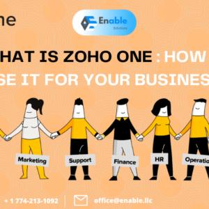 Zoho One Benefits