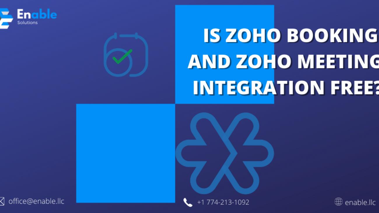 Zoho Meetings